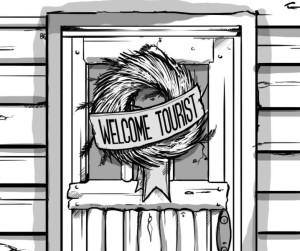 Welcome-Tourist-Wreath